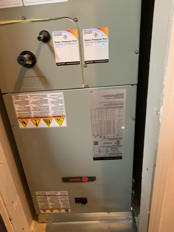 Newport, OR - Trane electric furnace maintenance