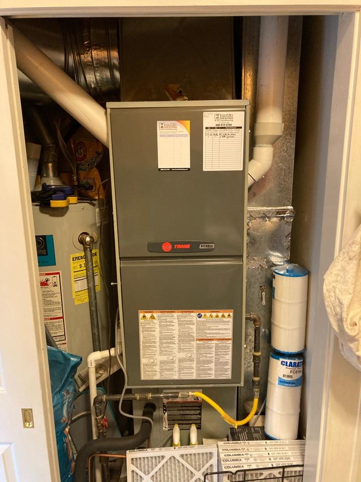 Tangent, OR - Trane furnace maintenance tuneup
