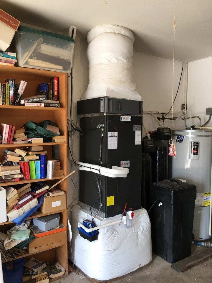 Jefferson, OR - Mitsubishi ductless heat pump install