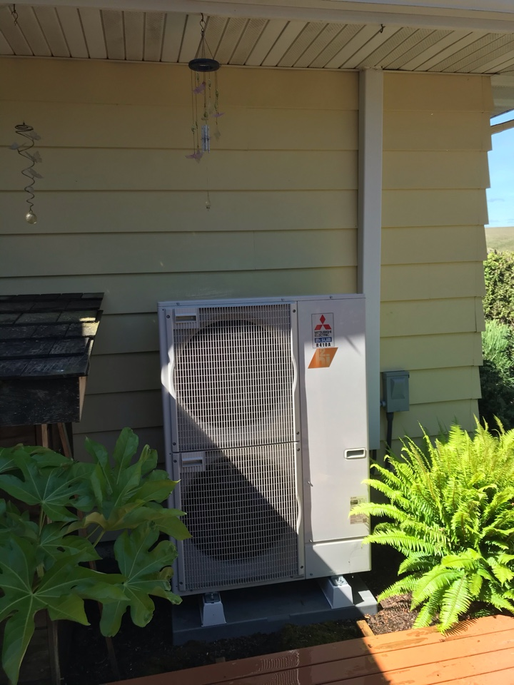 Independence, OR - Maintenance on a Mitsubishi heat pump system