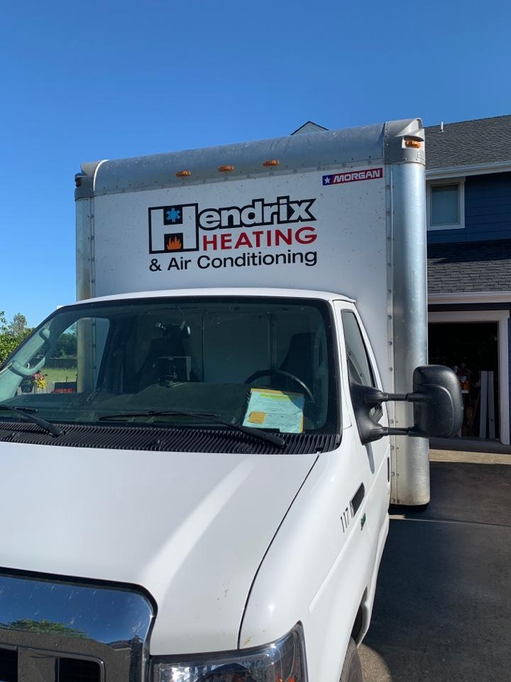Harrisburg, OR - Heat pump and air handler install.