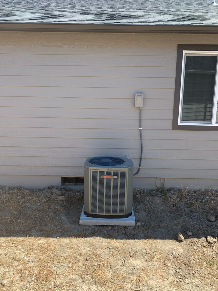 Independence, OR - New Trane air conditioner installed