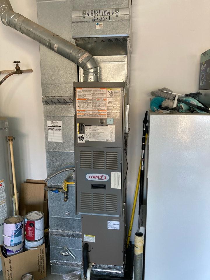 Tangent, OR - Lennox furnace maintenance tuneup