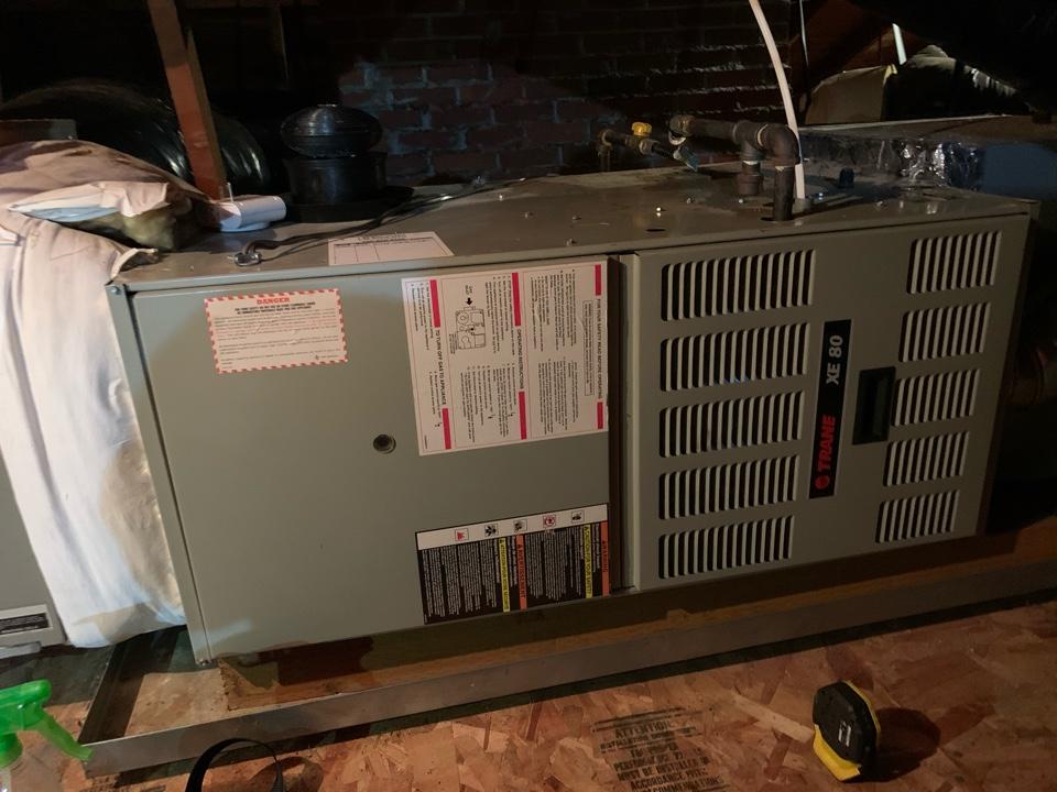 Jefferson, OR - Trane Furnace maintenance