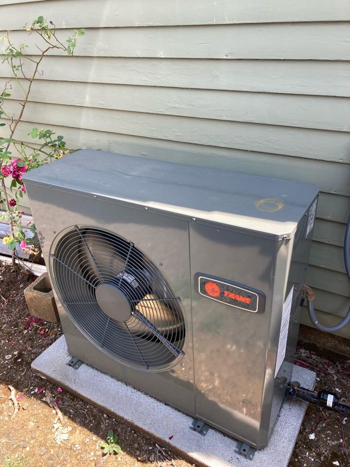 Dallas, OR - Trane air conditioner maintenance tuneup