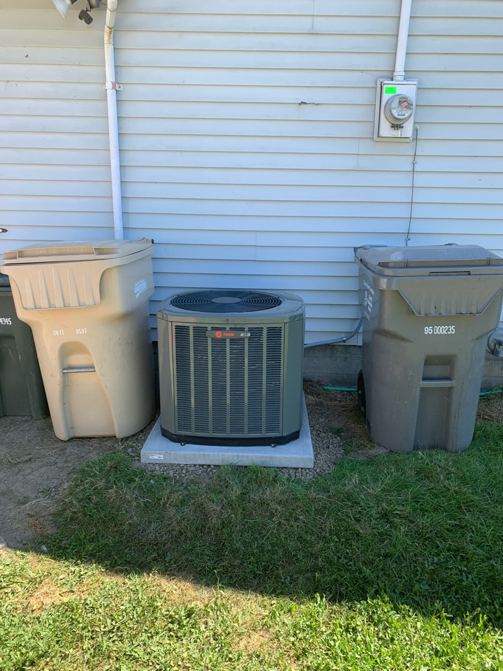 Halsey, OR - New Furnace and air conditioner installed