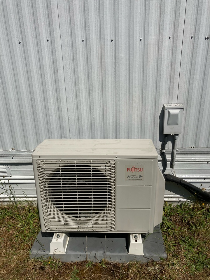 Springfield, OR - Fujitsu ductless heat pump maintenance tuneup