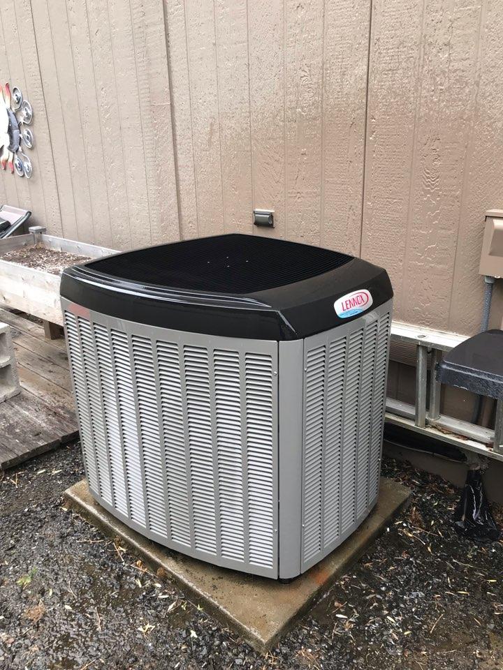 Philomath, OR - Maintenance on a Lennox heat pump system