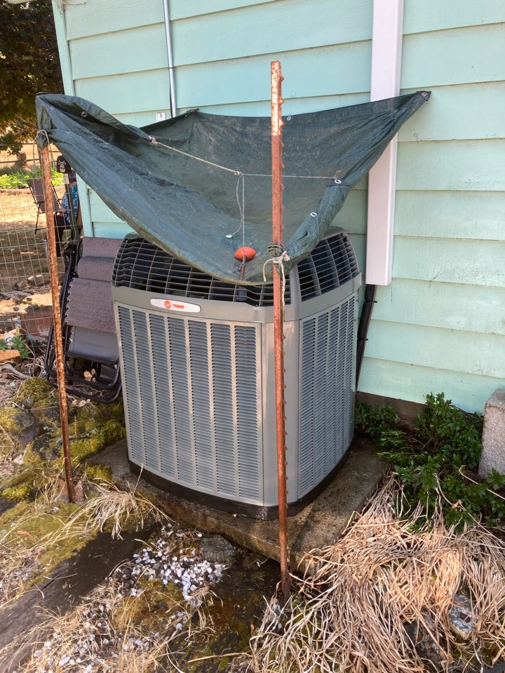 Monroe, OR - Trane heat pump system maintenance tuneup