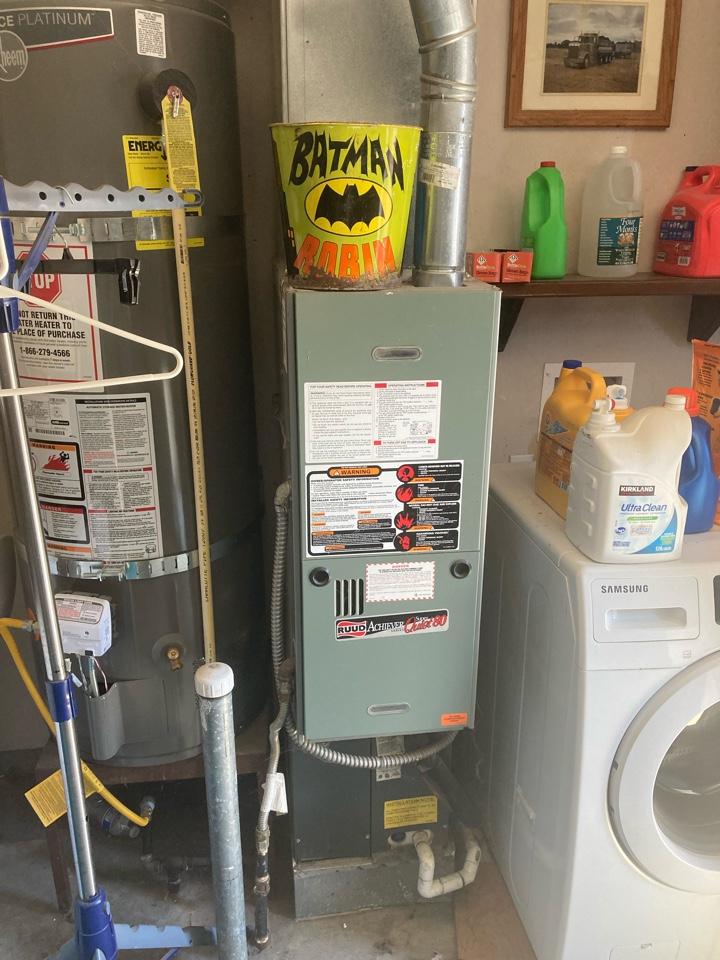 Halsey, OR - Ruud furnace maintenance tuneup