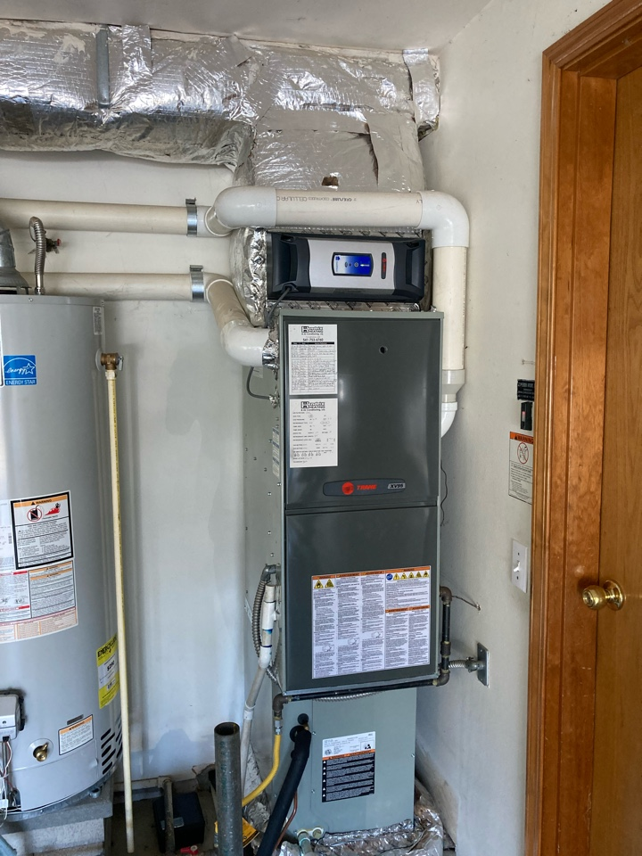 Keizer, OR - Trane furnace maintenance tuneup