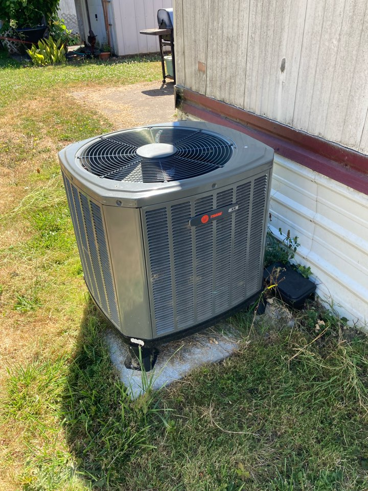 Independence, OR - Trane heat pump inspection