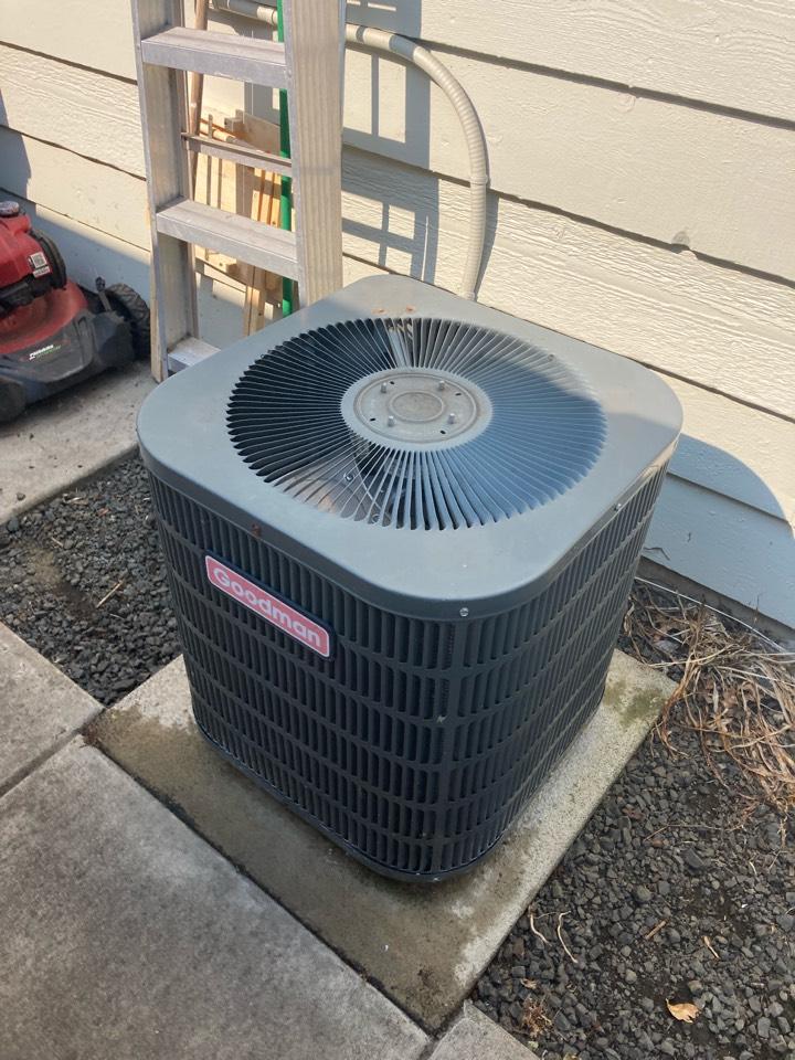 Corvallis, OR - Goodman air conditioner repair