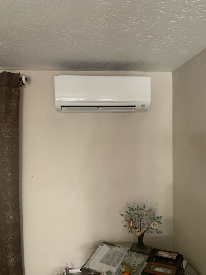 Corvallis, OR - New Ductless Heat Pump installed