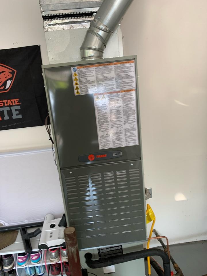 Corvallis, OR - Trane gas furnace maintenance