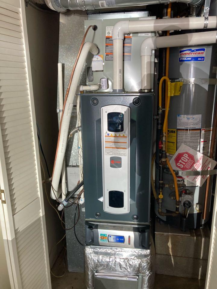 Salem, OR - Trane furnace inspection