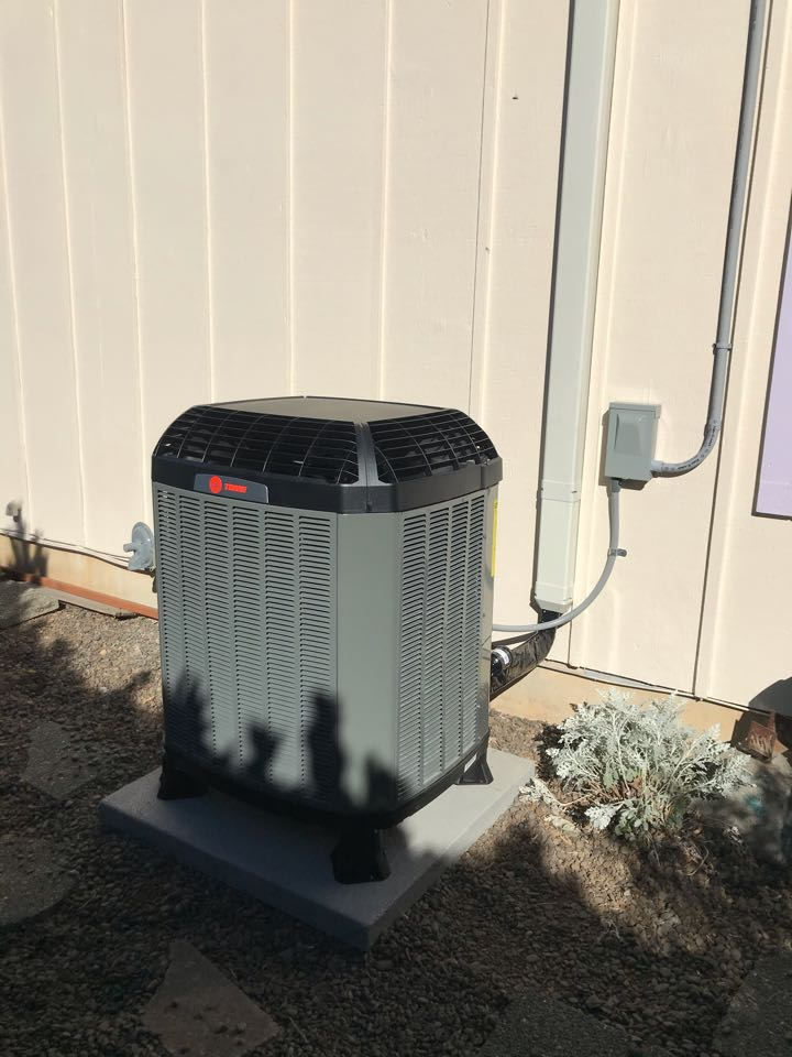 Corvallis, OR - Trane heat pump add on installation and duct work replacement.