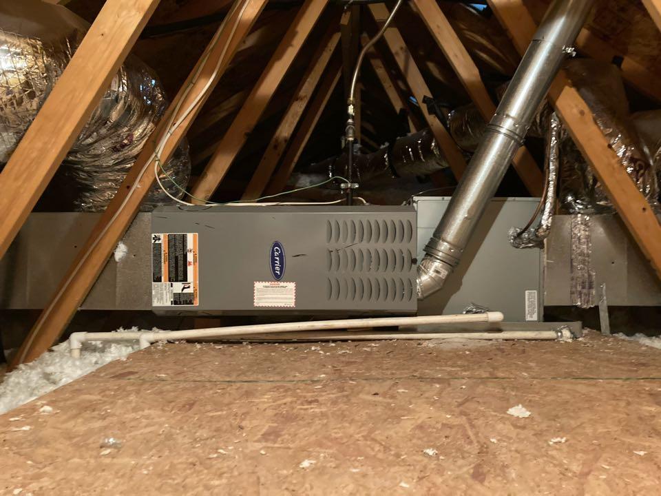 Corvallis, OR - Carrier furnace maintenance tuneup