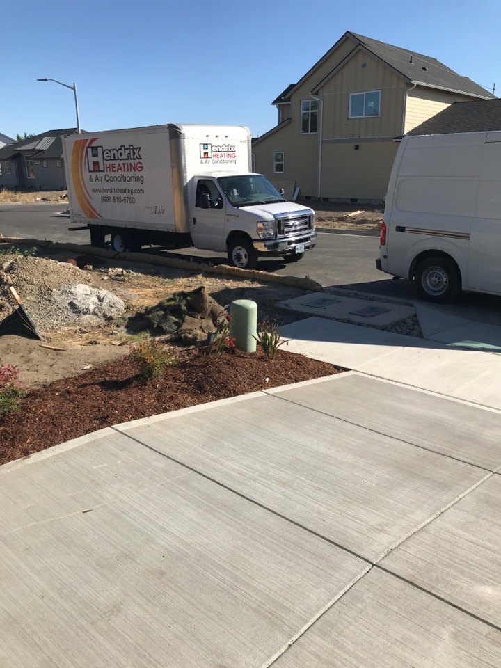 Corvallis, OR - Installing gas line in new construction