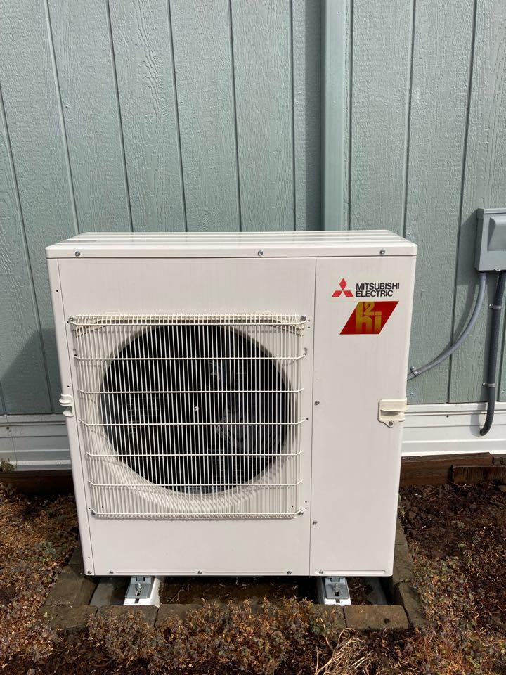 Lebanon, OR - Mitsubishi ductless heat pump maintenance tuneup