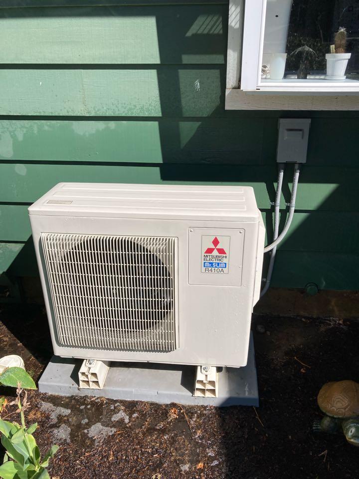 Springfield, OR - Mitsubishi ductless heat pump maintenance tuneup