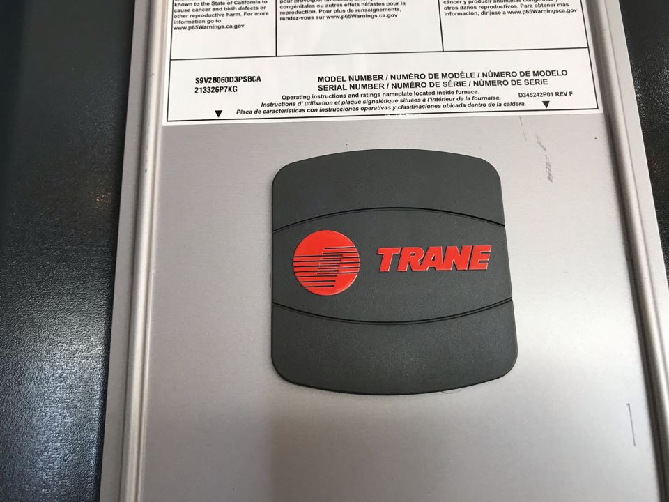 Tangent, OR - Trane gas furnace and AC installation.