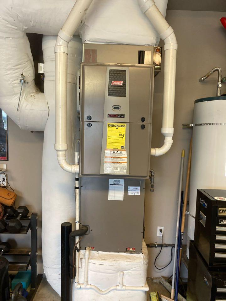 Philomath, OR - Coleman furnace maintenance tuneup