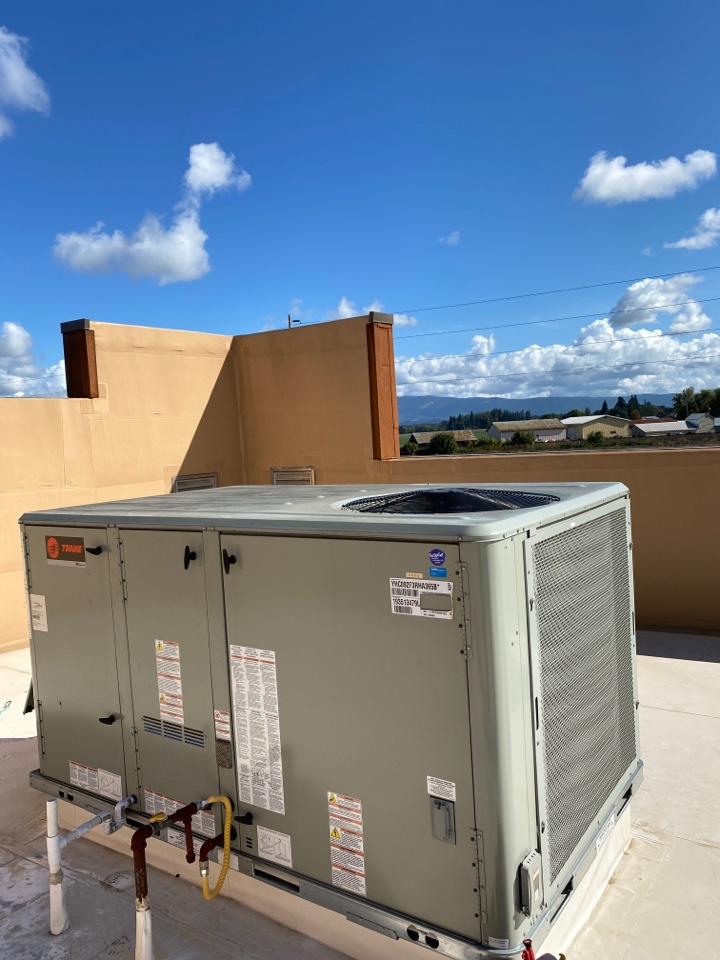Junction City, OR - Trane package unit