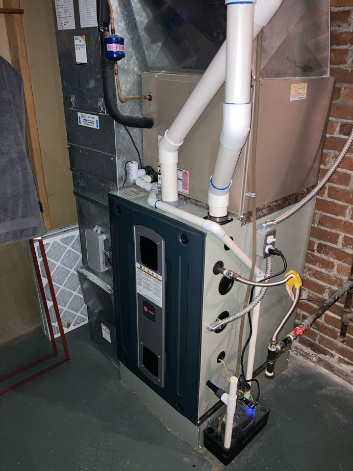 Corvallis, OR - Trane furnace inspection