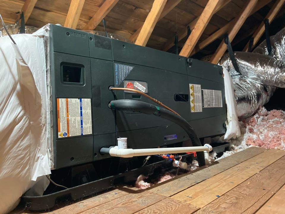 Corvallis, OR - Trane air handler maintenance tuneup