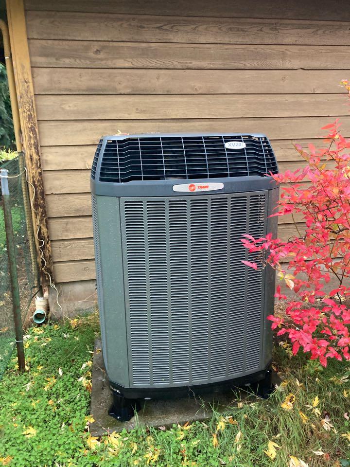 Corvallis, OR - Trane heat pump maintenance tuneup