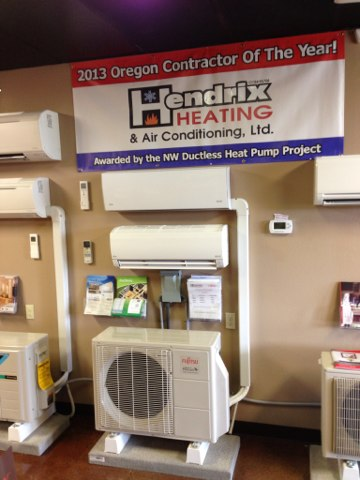 Aumsville, OR - Quote new Trane heat pump system, Daikin,Fujitsu,Mitsubishi ductless heat pump system, Energy Trust of Oregon Rebates,  Oregon energy tax credits