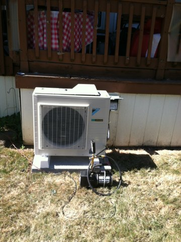 Aumsville, OR - Install of daikin 18 k single head