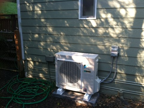 Blodgett, OR - Install ductless heat pump. CPI