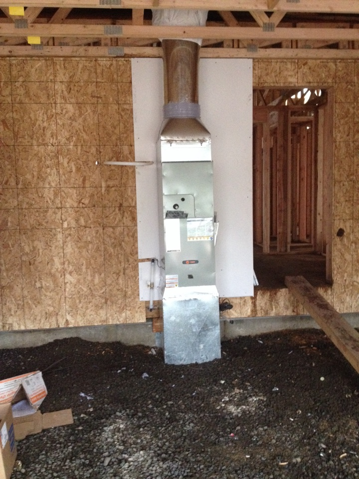 Aumsville, OR - New construction install
