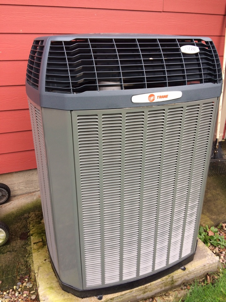 Siletz, OR - Trane heat pump with electric furnace heating and cooling system: Service Diagnostic