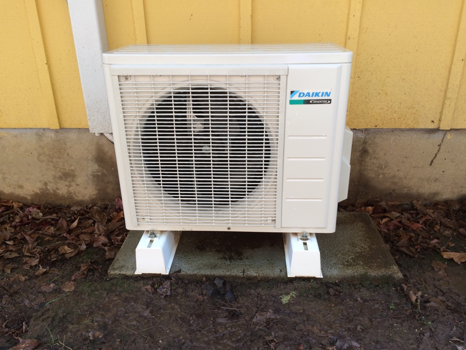 Toledo, OR - Service on Daikin ductless heat pump