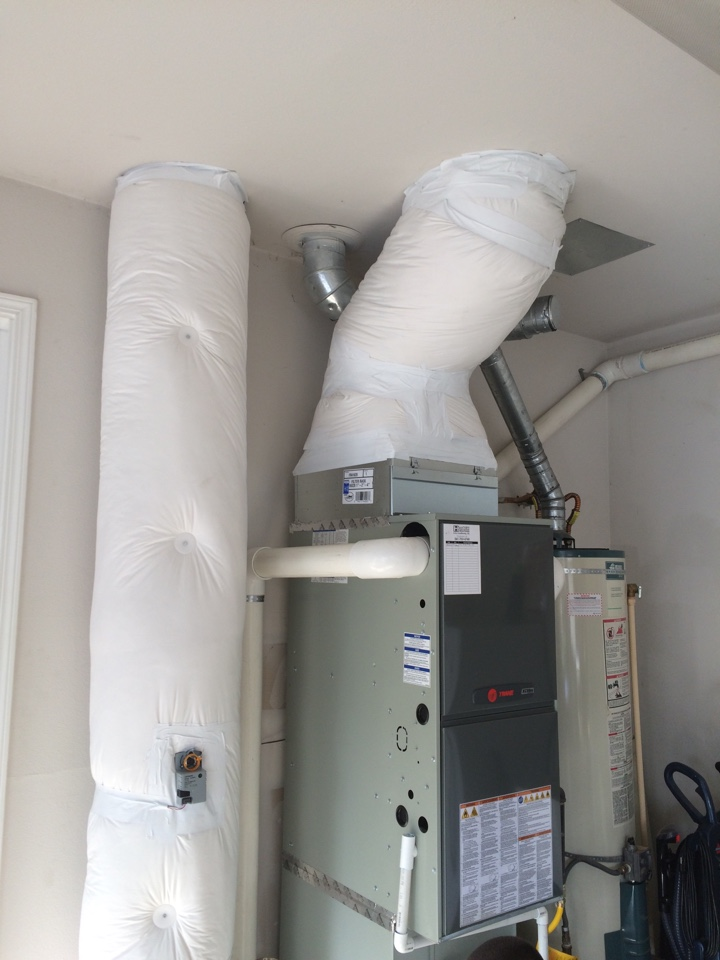 Keizer, OR - Install of trance gas furnace ac and zoning