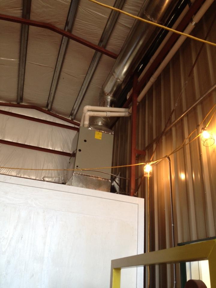 Harrisburg, OR - Trane gas furnace install
