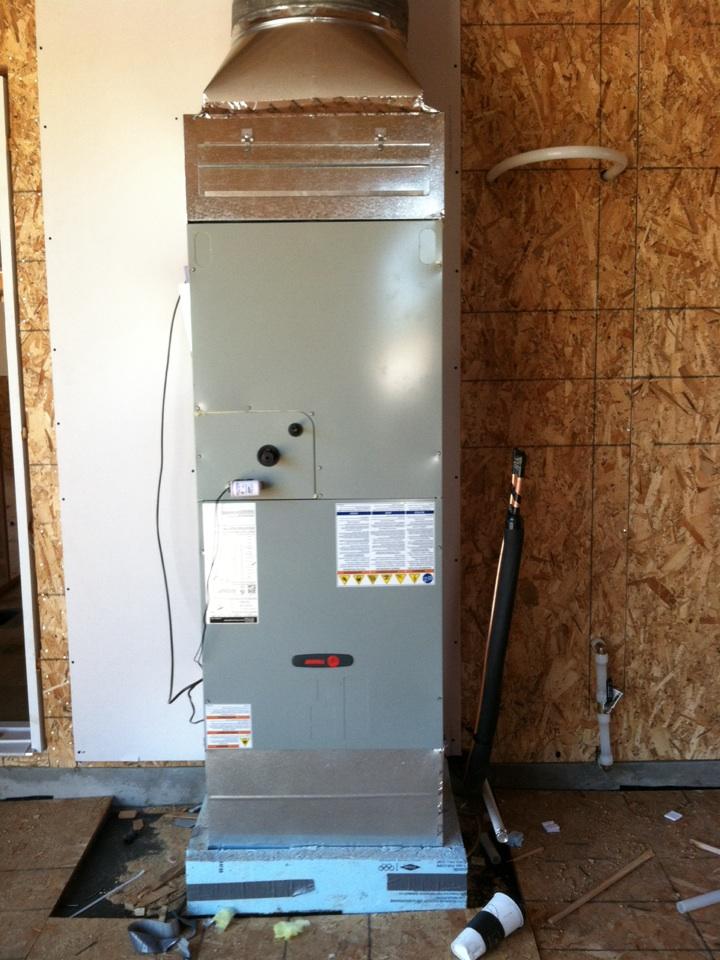 Salem, OR - Installed furnace in new home