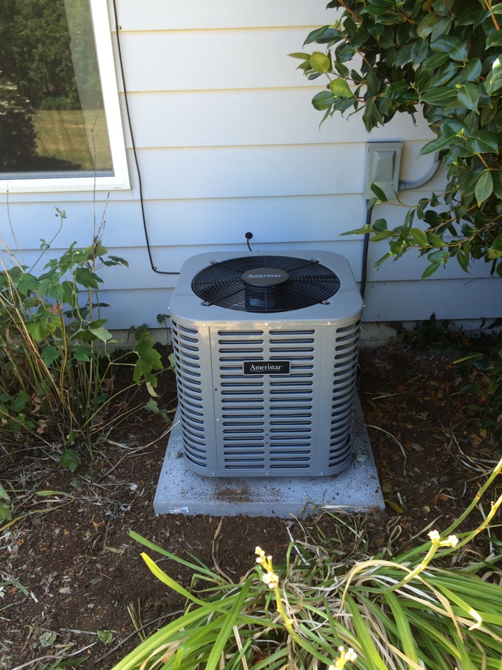 Salem, OR - Completed install of Ameristar AC