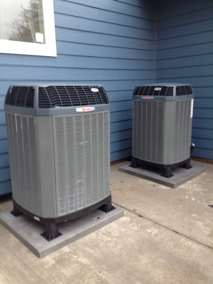 Turner, OR - Trane heat pump installs new construction
