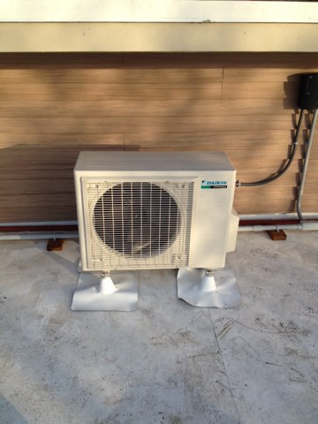 Seal Rock, OR - Installed a Daikin ductless heat pump