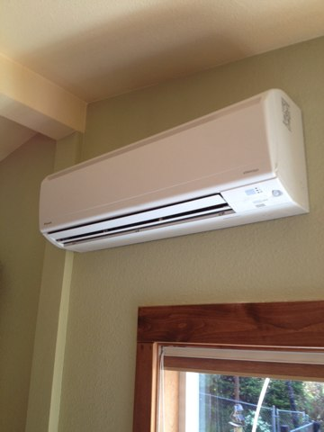 Seal Rock, OR - Installed the indoor wall unit to a Daikin ductless heat pump