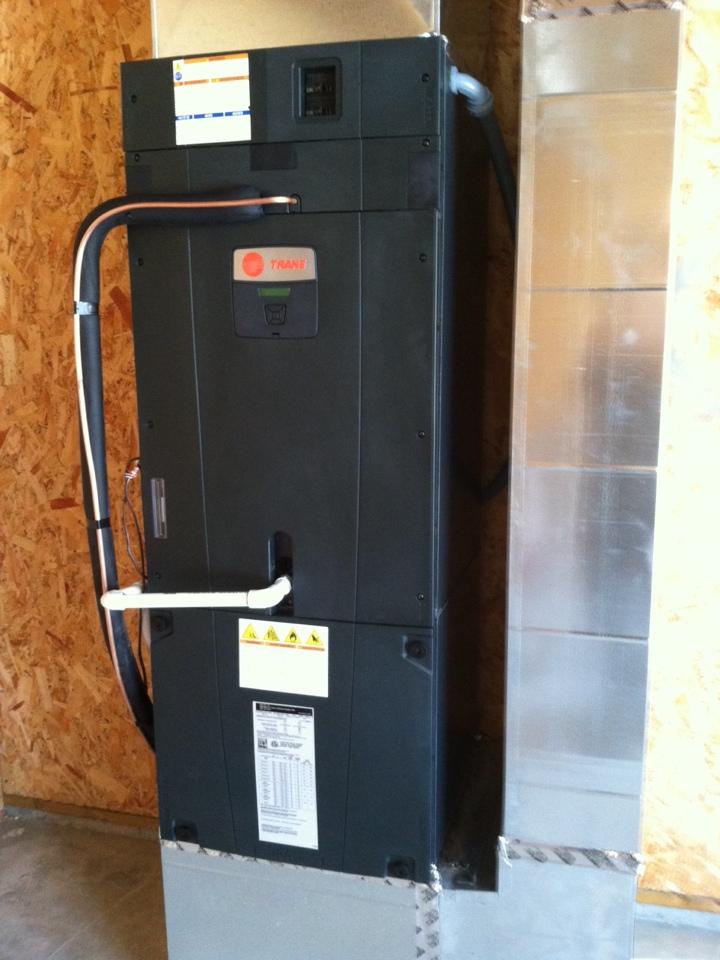 Prineville, OR - Trane air handler and Trane xv20 heat pump installation