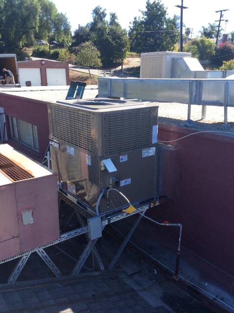 Fallbrook, CA - Performed job walk for replacement of HVAC roof top system for restaurant