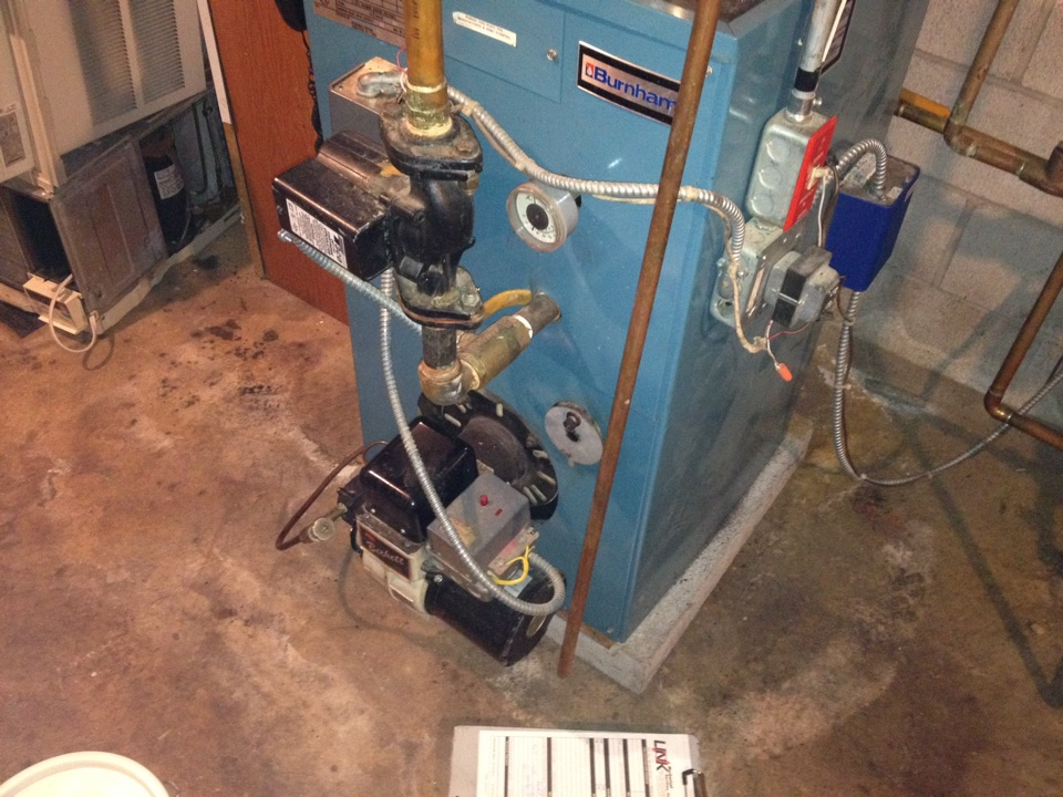Meriden, CT - Oil boiler tune up burnham ram-96