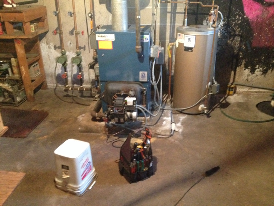 Bristol, CT - Dunkirk oil boiler tune up 3ew1.00t