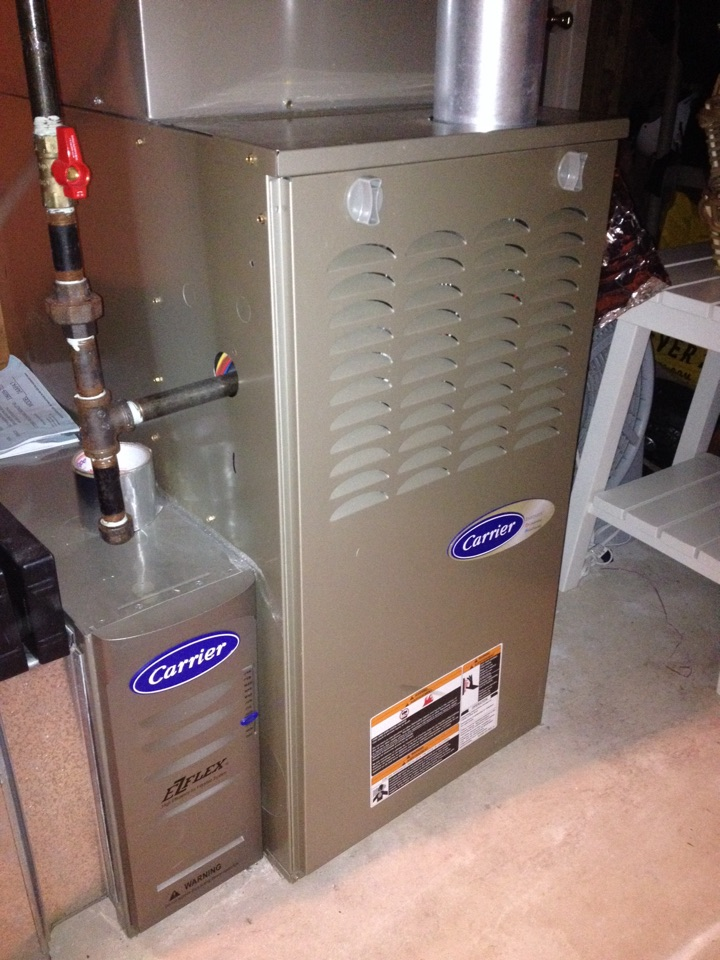 carrier gas furnace. simsbury, ct - did heating maintenance on a carrier infinity gas furnace. also furnace