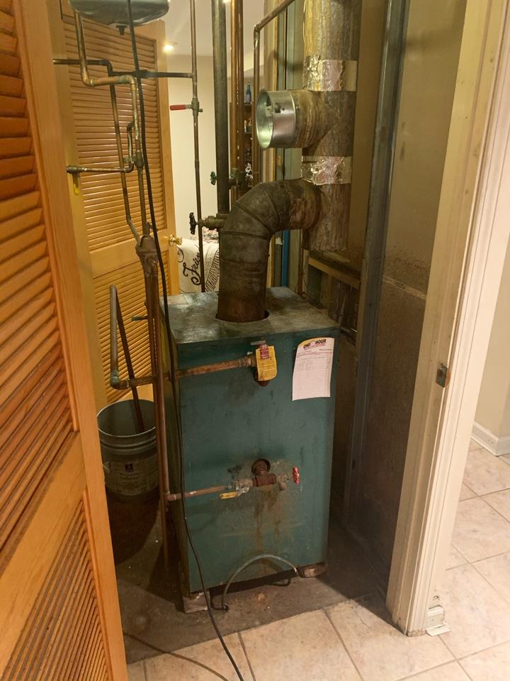 Plainville, CT - Oil to gas conversion boiler
